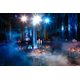 A photo of the ballroom, perfectly depicting the event theme - Smoke & Mirrors: The Art of Illusion