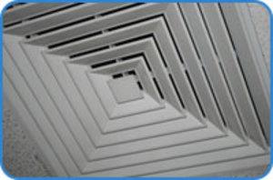 Medium ceiling vent