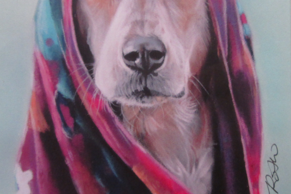 'Tribal Pup' by Jen Roth.