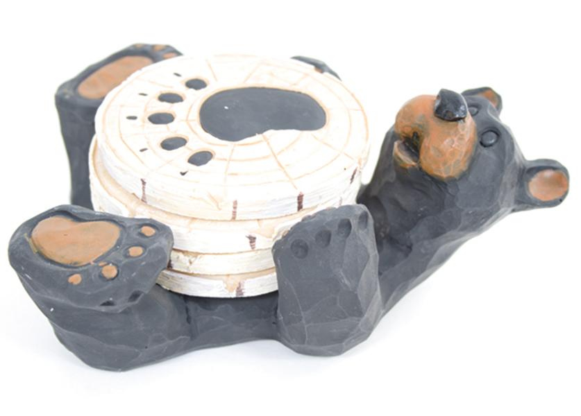 Lovely 4 Bear Coaster Set By Slifka $19.99 At Affordable Furniture U0026 Beds, 55 Fair  Lane