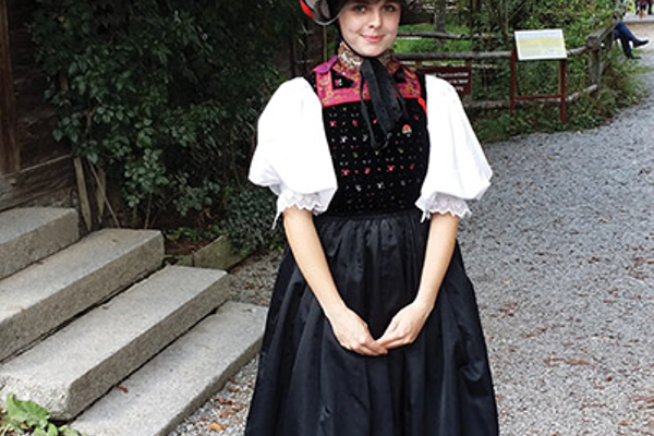 A visit to the Black  Forest Open Air  Museum Vogtsbauernhof offers a look at many German traditions.