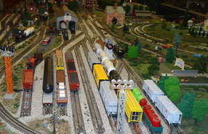 Milton Model Train Museum - start Dec 05 2015 0100PM