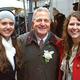 La Roche student Rita Vinski, WPXI anchor Alby Oxenreiter and La Roche graduate Paige White at the WPXI holiday parade. Photo courtesy Photo4Food