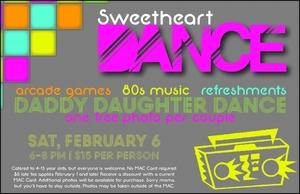 Sweetheart Dance - start Feb 06 2016 0600PM