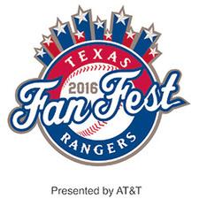 Texas Rangers Fan Fest - start Jan 23 2016 0900AM