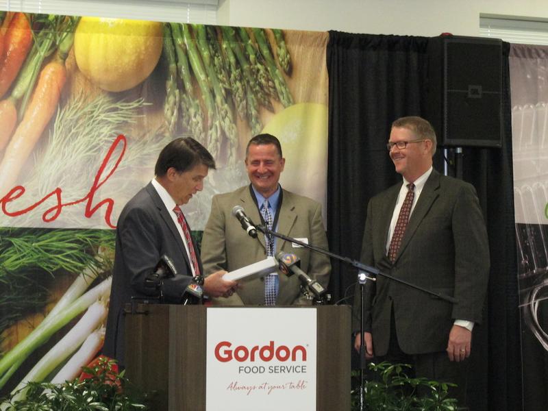 Gordon Food Service Distribution Center Opens in Kannapolis