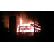 Barn fire Jan. 7, 2016 near the Rogers/Maple Grove border on Country Road 101. (Photo provided by Amy Jauman)