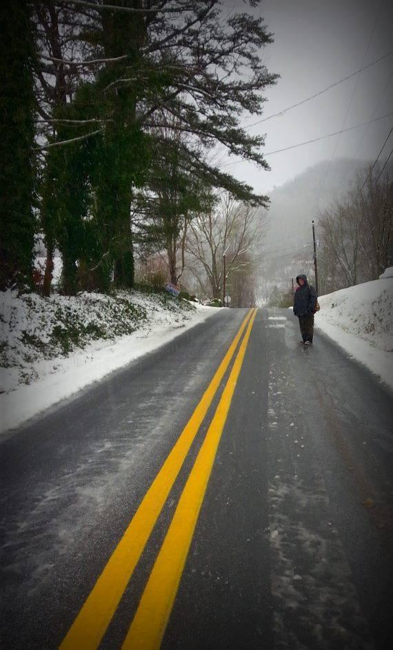 Snow Around Rabun Makes for Beautiful Adventures