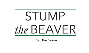 Stump The Beaver - Jan 27 2016 0520PM