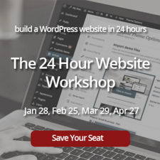 Medium 24 hour website workshop banner square
