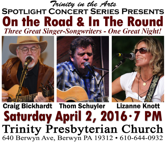 Trinity Spotlight Concert: In-The-Round featuring Craig