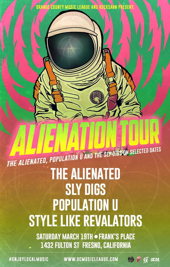 Alienation 20tour