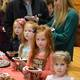 Young visitors sample some of the goodies at the Kennett Chocolate Lovers Festival on Feb 21