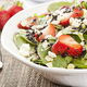 Strawberry Spinach Salad with French Poppy Seed Dressing - 02222016 0241PM