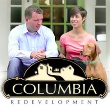 Medium columbia logo white