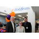 North Hennepin Area Chamber of Commerce Executive Director Steve Erickson, BioLife Plasma Services Regional Marketing Representative Jessica Rieland, and BioLife Services Center Manager Brenton Pritschet at the March 3 ribbon cutting.