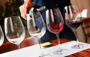 Medium wine glasses 650