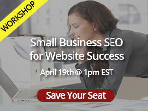 Small business seo workshop banner small