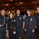 Phil Challinor, Police Cheif Cynthia  Renaud, Kalie Silva and Matt Blake