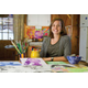 Artful Eye: Lowell Whiteman School art teacher Lainey Heartz at home in her studio Photo: Corey Kopischke