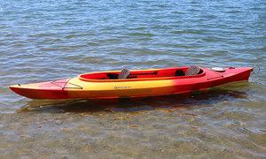 Medium double kayak green lake