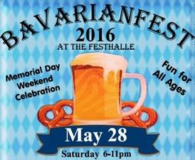 Bavarianfest 2016 - start May 28 2016 0600PM
