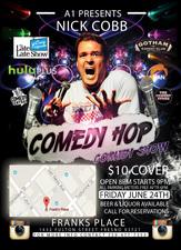 Medium nick cobb comedy hop flyer