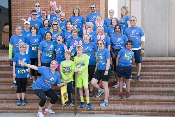 The C25K group after the Bunny Run 5K