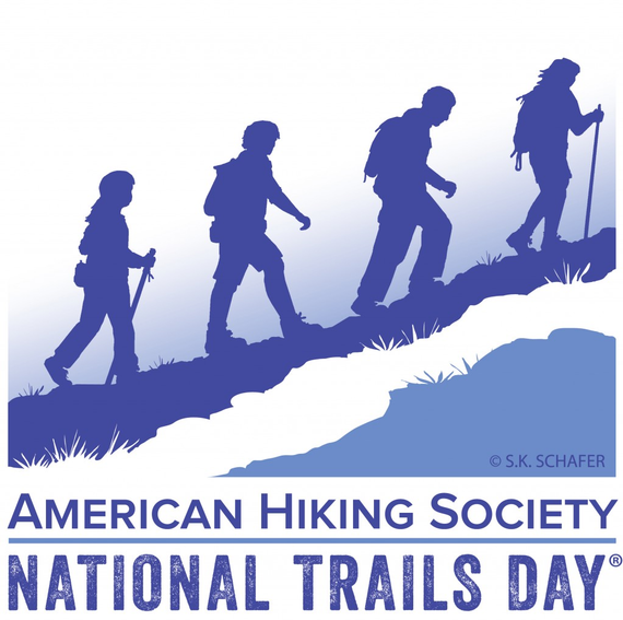 Nationaltrailsday logo