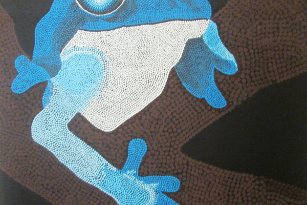 'Frog,' by Oxford senior Teresa Ayala.