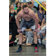 One of the competitors takes a break during the charity throwdown. —CrossFit OUR