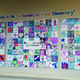 The student created mural was commissioned by Lone Peak Hospital.—Kelly Cannon