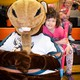 The Pep Rally served as an opportunity for kids to interact with some of their favorite mascots. – Jay Alldredge