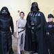 """The Fifield family dressed up like """"Star Wars"""" characters and posed for pictures with children at a South Jordan Youth Council event. – Tori La Rue"""