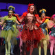 """Grace Zito, center, leads the bird girls in """"Seussical Jr."""""""