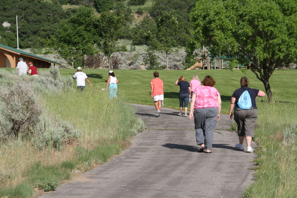 Residents can walk at their own pace during Shape Up Sandy. —Sandy City