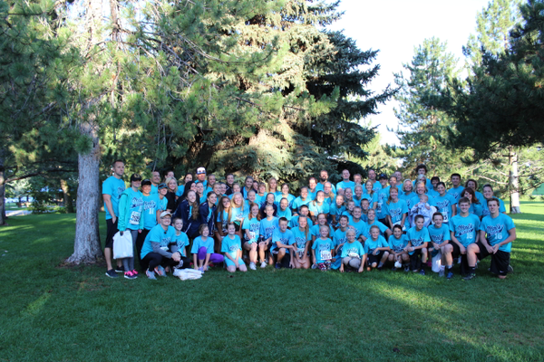 The Dash for Donation is a 5k fun run and 2k walk where participants could form teams to run in honor of a specific donor. – Photo Courtesy of Intermountain Donor Services