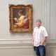 Ashdown stands next to a painting by Jean-Honore Fragonard at the National Galleries in Washington DC. – Photo courtesy of Ashdown family