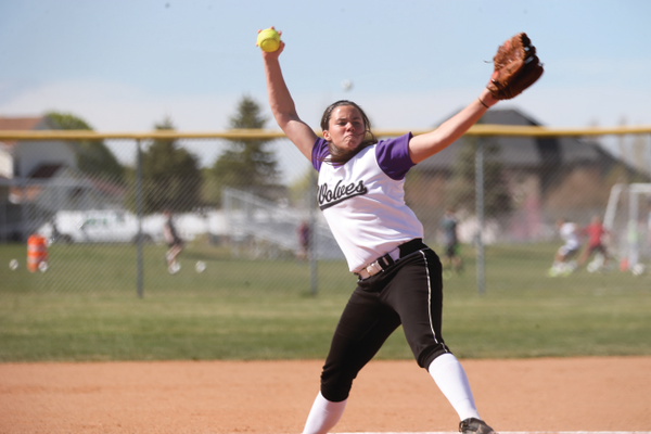 Riverton senior Jordan Lockhart has 168 strikeouts in 105 innings pitched this season. Photo courtesy of dsandersonpics.com