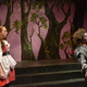 "Little Red Riding Hood looks at the Wolf during Hunter High's production of ""Into the Woods."" The play was performed in the Little Theatre at Hunter High School on May 5,6 and 9. – Kjersti Parkes"