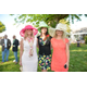 Ginger Dilley, Equine and Volunteer Coordinator and Event Committee Member Wendy Gast, and Debra Hanzlik
