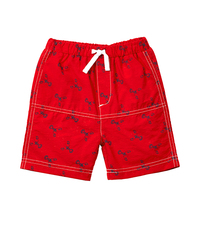 Medium le top lobster swim trunks