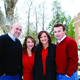 Gina Chamness posing with her family. —Holladay