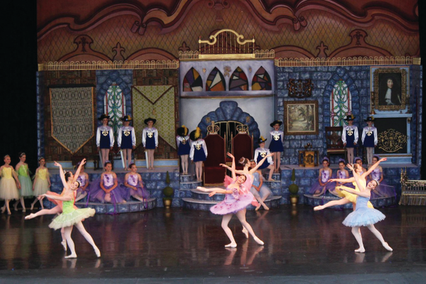 "The fairies dance to welcome the birth of Princess Aurora during the opening scene of ""Sleeping Beauty.""—Kate Johnson"