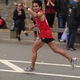 Shan Haq runs the last few miles of 2015 New York City Marathon