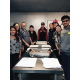 Members of the Murray Youth Chamber of Commerce make burritos before delivering them to the homeless downtown. – Murray Youth Chamber of Commerce