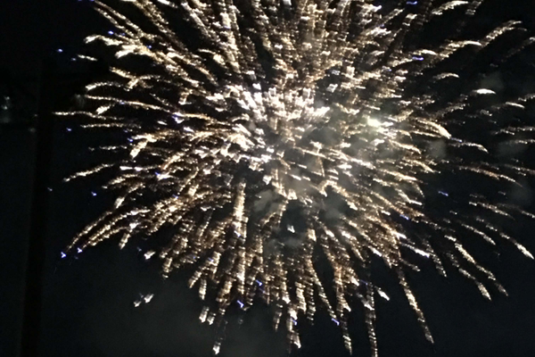 Fireworks burst into the sky at the end of South Jordan's summer festival. – Tori La Rue
