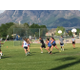 Bingham's boys and girls lacrosse teams face off in a game after the completion of both of their seasons. –Tori La Rue