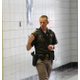 Trooper Scott Attridge explains how to cover hall ways at the active shooter drill Jordan High School on July 5, 2016. (Photo: Chris Larson, Sandy City Journal)