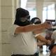 Cadet covers long hallway at Jordan High School on July 5, 2016. (Photo: Chris Larson, Sandy City Journal)